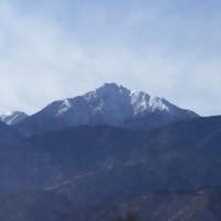 北アルプスから富士山
