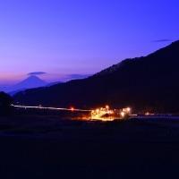 富士見町 下蔦木より富士を望む 2017