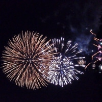 横浜開港記念祭の花火!