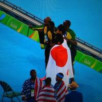 〔リオ五輪・陸上〕男子400mリレー、日本が銀メダル!ボルトが三大会連続三冠達成!