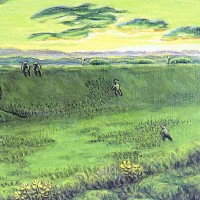 106.馬草刈り