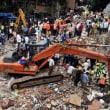 インド・ムンバイで、またビル倒壊で17人死亡!救助作業続く。