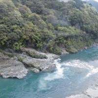 四国絶景10景めぐり 『 大歩危小歩危、祖谷のかずら橋 』 ー2