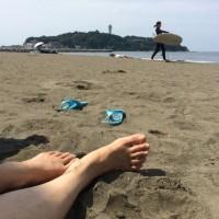 遊ぶ。海で!!!