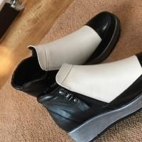 ☆ バイカラー靴 ☆