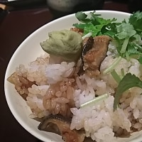 元気レストラン・三陸産煮焼きあなご丼ひつまぶし風