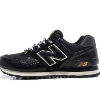 new balance ML574 SBL Black Snake