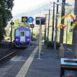 JR西日本関西本線 京都笠置駅とメジロ