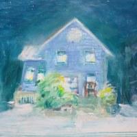 青い家の話