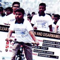 挑戦 核なき世界へ 核兵器禁止条約交渉会議③ 成功へと各国が取り組み 草案に「ヒバクシャ」と