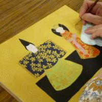 藤島先生のデッサンから水彩画・日本画へにお邪魔しました。