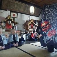 石渡八幡神社の春祭り