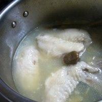 圧力鍋で参鶏湯(サムゲタン)もどき