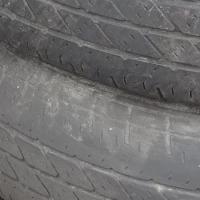 オレサマ号、最後の新品タイヤ