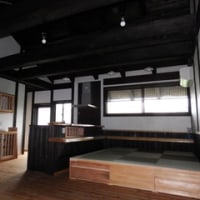 琉球畳と薪ストーブ