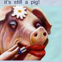 ○ IT's STILl A Pig// オバマ氏の「豚に口紅」発言