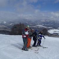 雪だるまスキーツアー1日目