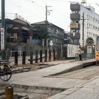 《鉄道写真》都電荒川線~青帯の頃(4)・変貌した早稲田電停付近~