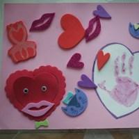 バレンタインクラフト