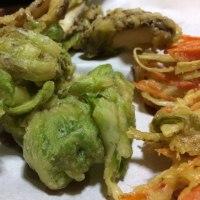 フキノトウの天ぷら「風味が広がります」を英語で