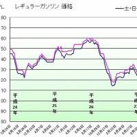 ガソリン価格110円/L