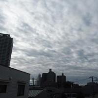 今朝の東京のお天気:曇り?