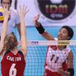 日本3:0アメリカ 第19回世界ジュニア女子選手権大会(U-20)