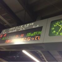いざ!東京へ! (p_-)
