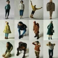 COOL氏の人形 「MODELS」シリーズのスタンダードサイズも出品いたします。