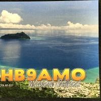 番外 QSLカード到着 FH/HB9AMO