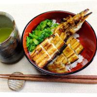 ある日の昼食は「アナゴ丼」や「蕪の葉とベーコンのカルボナーラ」