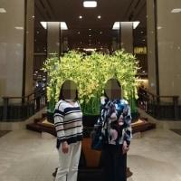 義母と東京へ②   (帝国ホテル・グルメ編)