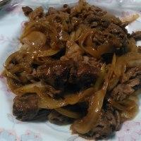 焼肉と天ぷら