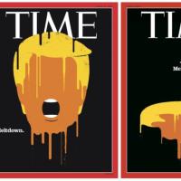 米タイム誌 「今年の人」にドナルド・トランプ氏を選出(笑)  過去のトランプ氏表紙画像がひどい!