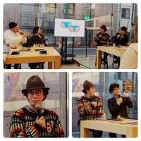 片桐仁★Apple 表参道「デジタルを活用してハンドメイドを楽しもう」