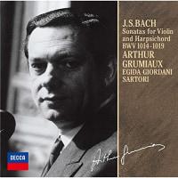 アルテュール・グリュミオー /J.S.バッハのヴァイオリンとチェンバロのためのソナタ集