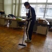 高等部1年 大掃除の様子