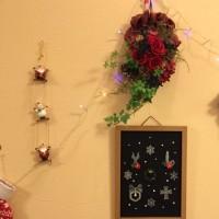 プラバンのクリスマス飾り