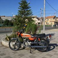 今日のAX125橙2 完成編 (10月24日)