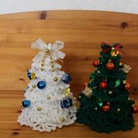 毛糸のクリスマス・ツリー