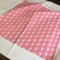 オリジナルデザインのクマさんの布
