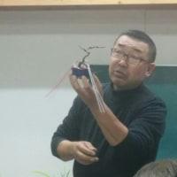 湘風園さんで、初心者盆栽教室のお手伝い