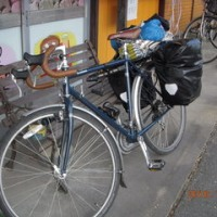 大阪の西川さん自転車で一カ月