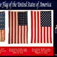 星条旗が、初めて旗めいた。