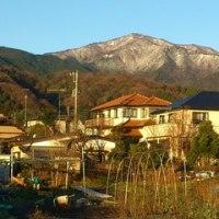 大山はやっぱり美しい