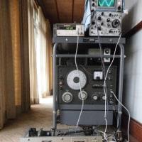 九四式三号甲無線機三六号型通信機受信部の修復作業記録 その8 (2016年12月05日)