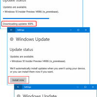 Windows 10 Preview[125]:ビルド 14986 が出ました