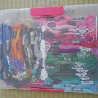 刺しゅう糸の収納