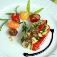 夏野菜のジュレテリーヌ