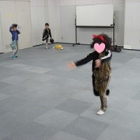 孫のダンス発表会の練習